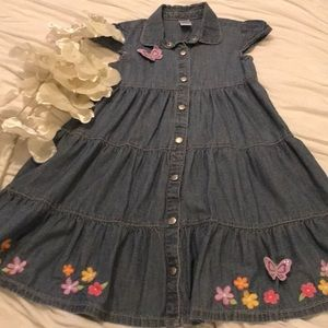 GYMBOREE JEAN GIRL DRESS